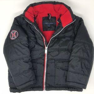 Boys Tommy Hilfiger size 4 winter jacket black